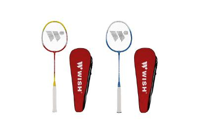 Wish Badminton 2 Player 366 Racquet Set-MO REPS® Fitness Store