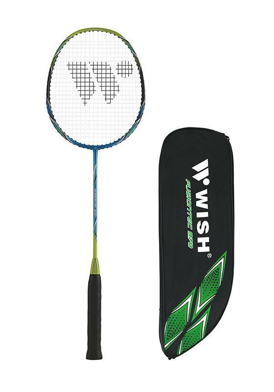 Wish Badminton Racquet - Fusiontec 970-Blue-MO REPS® Fitness Store