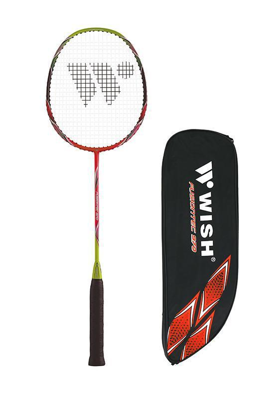 Wish Badminton Racquet - Fusiontec 970-Red-MO REPS® Fitness Store