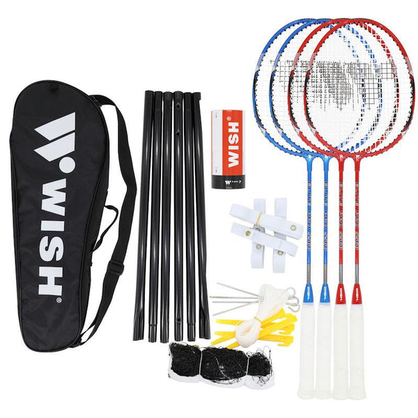 Wish Badminton Set - 4 Player 5566-MO REPS® Fitness Store