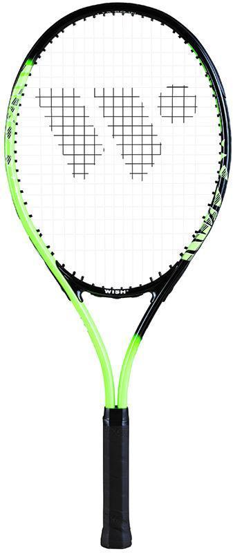 "Wish Tennis Racket Alumtec 2515 - 27"" - Green-MO REPS® Fitness Store"