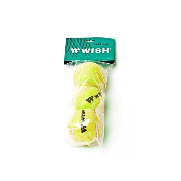 Wish Training 303 Tennis Ball Pack Of 3 - Yellow-MO REPS® Fitness Store