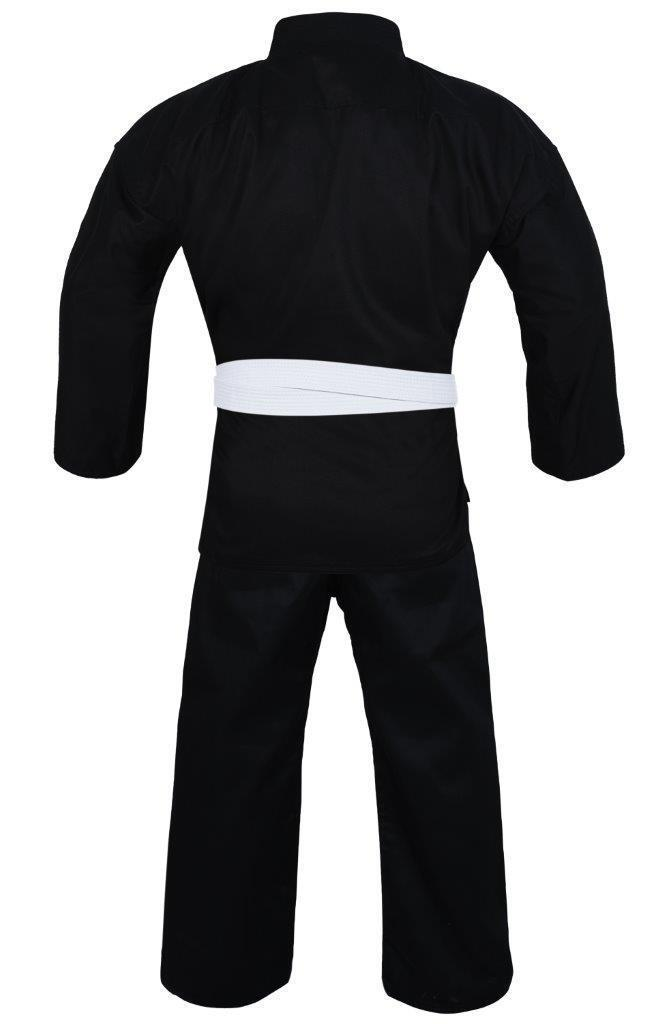 Yamasaki Pro Karate Uniform (10oz) Black-MO REPS® Fitness Store