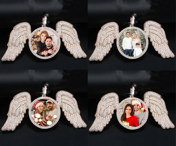 Angel Wing Medallions