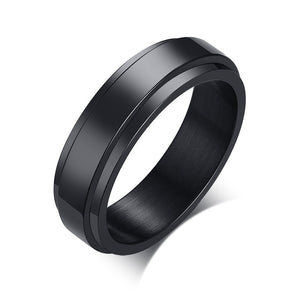 Personalized Spinner Ring for Men