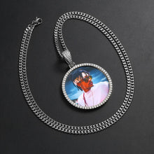 Custom Photo Medallions Necklace