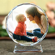 Customized Laser Engraved Crystal photo Frame
