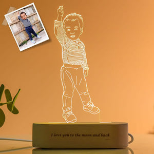 Custom Photo 3D Lamp- Valentines Day Gifts for Him