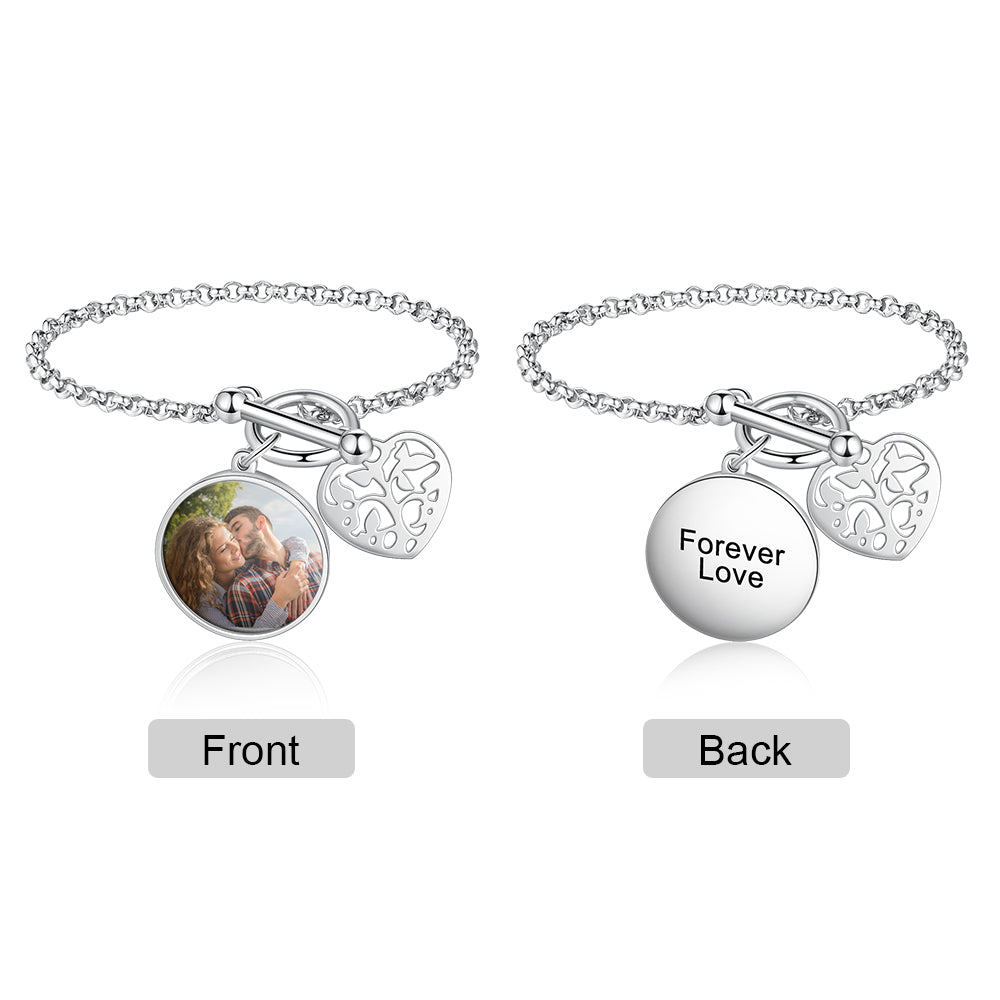 Photo Bracelet With Engraving