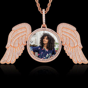 Angel Wing Medallions Necklace