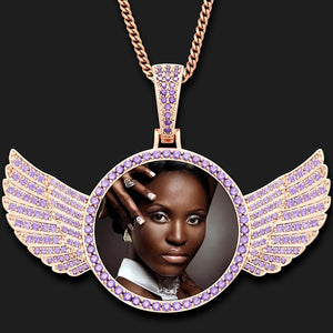 Wings Medallions Necklace