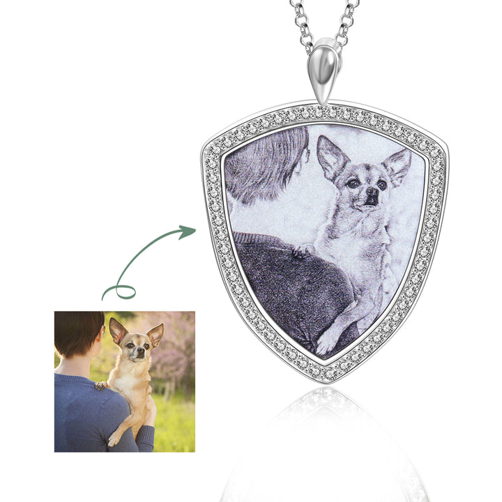 photo pendant necklace