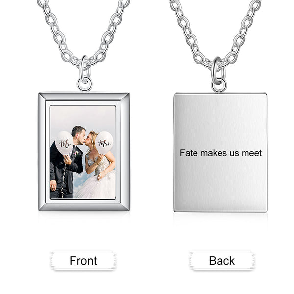 custom necklace with photo