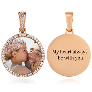 Photo Medallion Necklace
