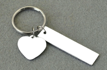 Personalized Photo Keychain with Personalized Text