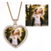 Custom Heart Photo Medallions Necklace & Pendant
