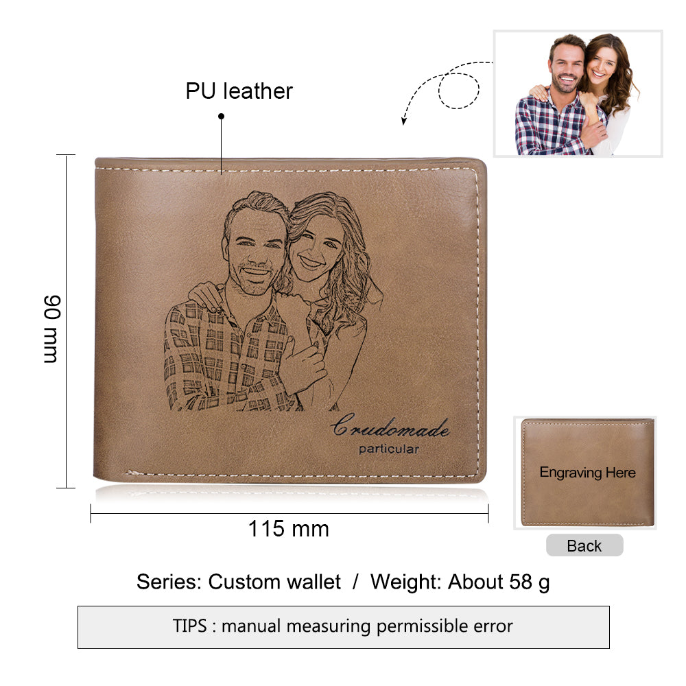 customized wallets for him