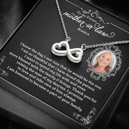 Infinity Hearts Necklace- To My Future Mother In Law