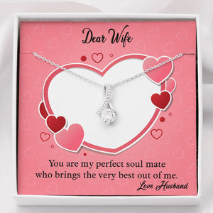 Valentines Day Gifts-Alluring Beauty Necklace-Husband to Wife Gift