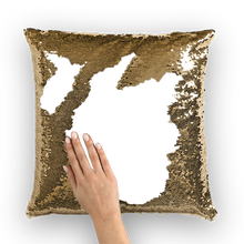 Custom Sequin Pillow Cover with Your Photo