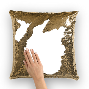 CUSTOMIZED SEQUIN MOTHERS DAY SEQUIN PILLOW COVER