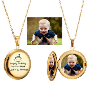 Kalung Locket Photo Custom