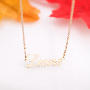 Personalized Name Necklace With Three Names