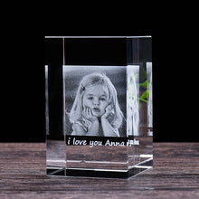 Customized Laser Engraving Crystal Photo Frame