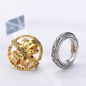 Astronomical Ball Ring-Closing is love, Opening is the world