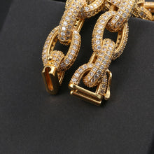 Hip Hop 10mm Exaggerated Punk Thick Cuban Link Chain Necklace