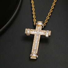 Cross Pendant Necklace- Iced Out Cubic Zircon Pendant