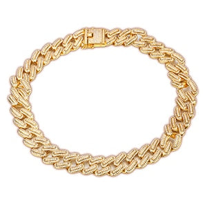 Luxury 20mm Iced Out Miami Cuban Chains Necklace For Men