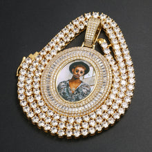 Custom Photo Medallion Necklace- Oval Shape Pendant Necklace