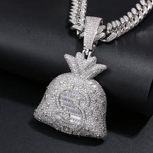 Hip Hop Big Money Bag Pendant Necklace