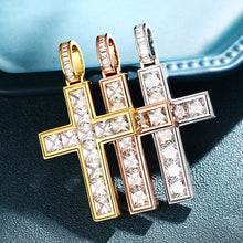 Cross Crystal Pendants Necklace
