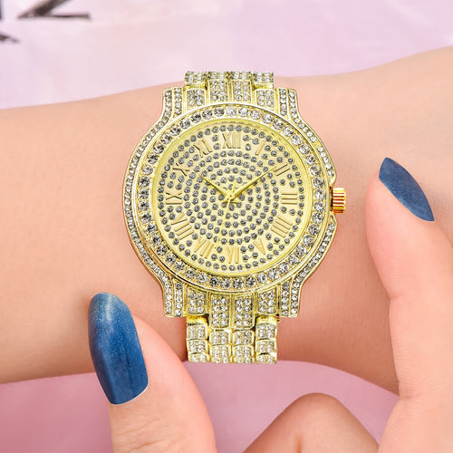 Hip hop Watch Bracelet- Small Dial Military Quartz Clock