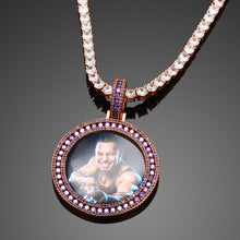 Photo Medallions Necklace