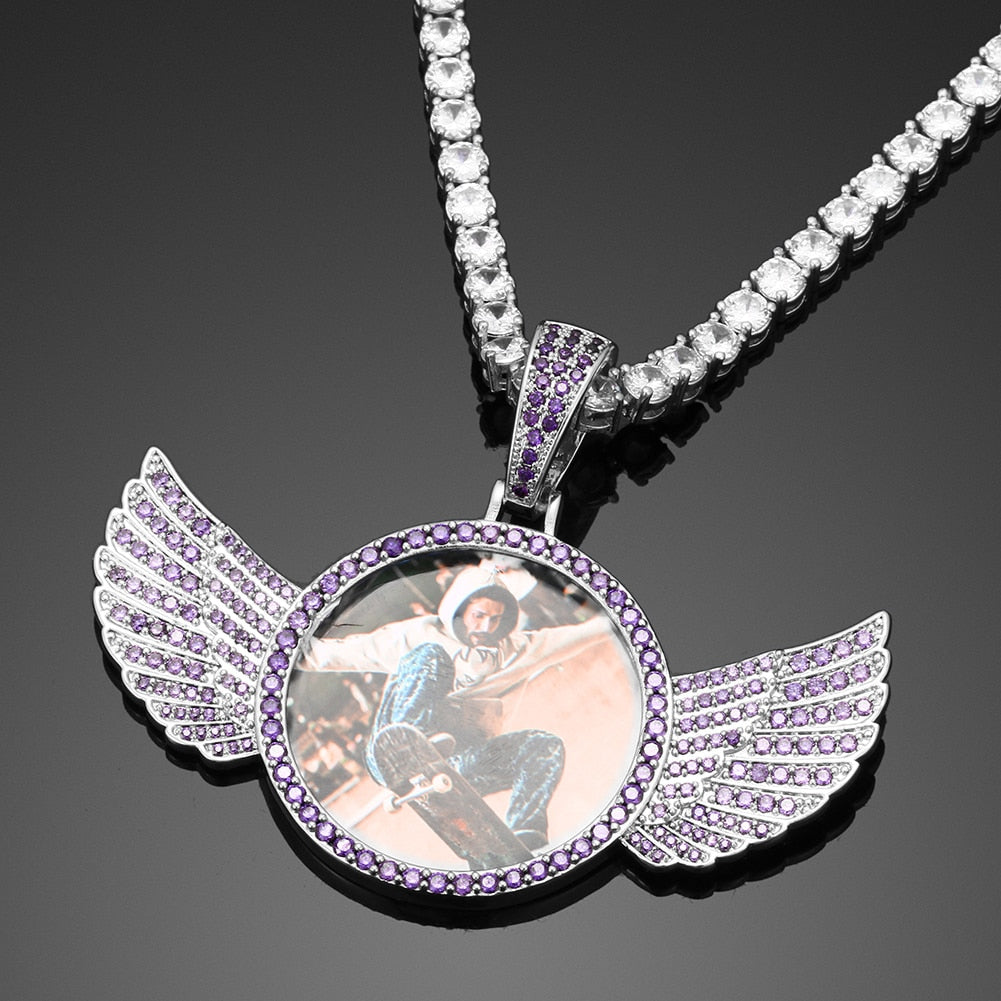 Photo Angel Wings Pendant