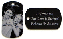 Personalized Photo Key chains-Engrave Your Photos, Letters