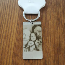Personalized photo Keychains Engraved With Words