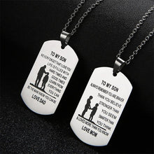Personalized Necklaces, Father To Son/ Father to Daughter/Mother to son And More
