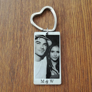 Customized Photo Keychain for him/her