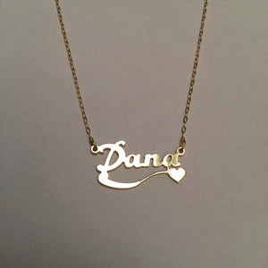 Custom Name Necklace with Different Patterns To Choose