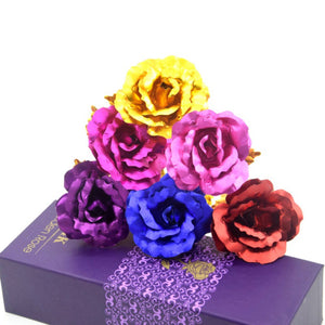 Valentine's Day Gold Plated Rose- Gift For Her