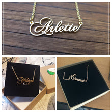 Personalized Name Necklace with Crown- Valentines Day Gifts For Her