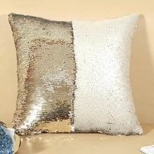 Color Changing Reversible Sequin Pillow Cover For Home Decor
