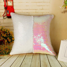 Color Changing Reversible Sequin Pillow Case For Home Decor