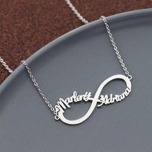 Infinity Name Necklace With up to 4 Names