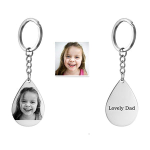 Personalized Keychain with Your Photos