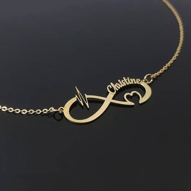 Personalized Infinity Necklace with Different Style